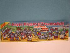 Auswahl Beipackzettel BPZ Die Happy Hippos auf dem Traumschiff  1992  100% Ori.