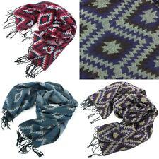 Scarf Shawl Wrap AZTEC Scarves Stole Soft Pashmina Print Women Ladies