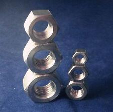 1-5PCS Titanium nut Gr5 m3 m4 M5 M6 M8 M10 DIN Pro Bolt Screw Fastener #M1603 QL