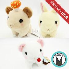 "7"" Japan Authentic Amuse Kyun to Naki Usagi Rabbit Plush Soft Toy Kawaii Cute US"