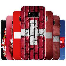 dessana Schweiz TPU Silikon Schutz Hülle Case Handy Tasche Cover für Samsung