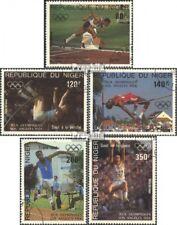 Niger 876-880 (kompl.Ausg.) gestempelt 1984 Sommerolympiade, Los Angeles EUR 3