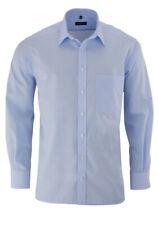 ETERNA Comfort Fit Hemd extra kurzer Arm Popeline hellblau AL 59 - Gr. 47,48 - H