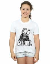 Gallows Fille Black Skull T-Shirt