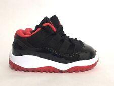 Brand New Jordan 11 Retro Low Bred True Red XI BT BP (3c/5c/10c/1.5Y/2Y/2.5Y/3Y)