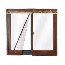 Fliegengitter Fenster Insektenschutz Magnet Vorhang Für Schiebefenster Kaffee DE