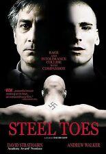 STEEL TOES rare Indie dvd JEWISH ATTORNEY Neo Nazi Defendant DAVID STRATHAIRN