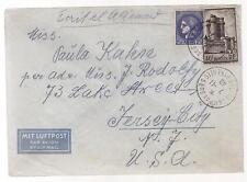 1940 France Concentration Internment Camp de Gurs prisoner Cover to USA E Kahn