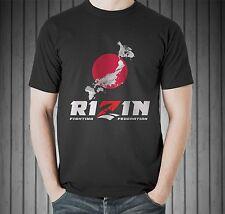 Rizin FC Fedor Emelianenko Mirko Crocop Kazushi Sakuraba Black T-shirt Size S-5X
