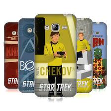 Officiel Star Trek emblématique des caractères TOS GEL souple Coque Pour Samsung Téléphones 3