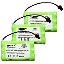 3-Pack Battery for Uniden TRU9496 TRU9565 TRU9565-2 TRU9585 Cordless Telephone
