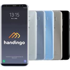 Samsung Galaxy S8 SM-G950F 64GB Ohne Simlock Schwarz Blau Grau Smartphone WOW