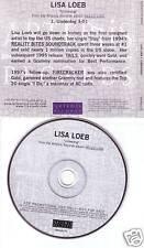 LISA LOEB Underdog RARE RADIO PROMO DJ CD Single 2002