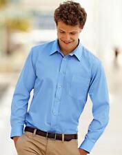 Camicia Uomo in popeline maniche lunghe FRUIT OF THE LOOM con taschino