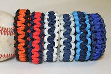 Baseball Paracord Survival Bracelet Team Colors MLB AMERICAN LEAGUE EAST
