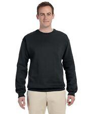 Fruit Of The Loom Men's Blank Fleece Sweatshirt Pullover Size + Color