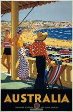 83895 Vintage 1930 Australia Australian Travel Decor WALL PRINT POSTER AU