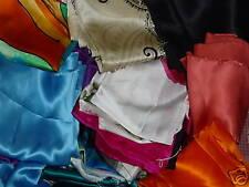 1 Pound Pure Silk Fabric Charmeuse Embroidered Dupioni Bolt End