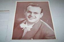 Vintage 8x10 Big Band Photo #324 - Eddie Garner (1949)