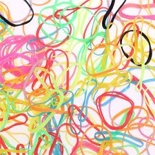 1000pcs/bag pequeñas bandas elásticas de pelo trenzas de goma Poly trenzas mini