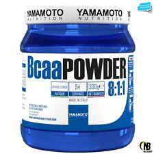 Bcaa POWDER 8:1:1 YAMAMOTO NUTRITION 300 gr Aminoacidi Ramificati in Polvere