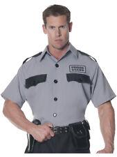 Men's Prison Guard Costume Shirt