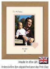 Daddy Photo Frame Portrait 6x4 My Daddy My Hero 1023F