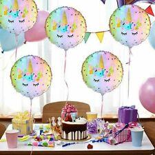 """18"""" Unicorn Theme Foil Balloon Kids Child Birthday Party Supplies Decor N#"""