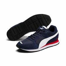 Puma VISTA Unisex Sneaker Schuhe Turnschuhe Mesh Leder Retro 369365 Peacoat