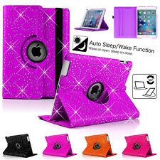 Protective Shell Smart Case Diamond Sparkly Cover For iPad Air 5/2/6 iPad Mini/4