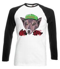 OFWGKTA Wolf Baseball T-Shirt Gang Sweater Odd Future Tyler Earl YMCMB Dope DTG