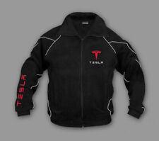 Neu Fleece Jacke Tesla Energy, Motor Sport Bestickt Jacket Gr. S-XXXL
