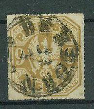 Preußen Briefmarken 1867 9 Kreuzer Michel Nr. 26 Rundstempel