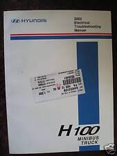 Hyundai H100 2002 : Electrical troubleshooting manual