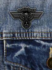 Motorhead Hammered Enamel Pin Badge
