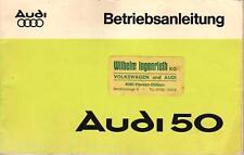 AUDI   NSU   50   Betriebsanleitung   Handbuch   1975   Bedienungsanleitung   BA