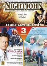 Family Adventure Set: Nightjohn/The Ron Clark Story/Fielder's Choice (NEW DVD)
