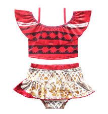 Vaiana Costume Mare Oceania Bikini 2 Pezzi Bambina Moana Girl Swimsuit VACOS02