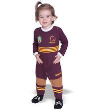 NRL Toddler Baby Brisbane Broncos Footysuit Onesie Unisex