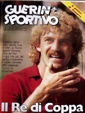 Guerin Sportivo 34 1983 Liam Brady Samp - Udinese Zico - Walter Schachner