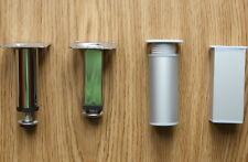 Kitchen Plinth Legs Chrome/aluminium/Steel adjustable cupboard cabinet