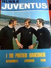 Hurrà Juventus 9 1971 poster Roberto Bettega