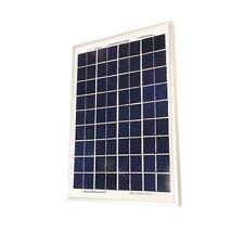 10 watt Monocrystalline Pre Wired Solar Panel Kit - 6 amp Regulator and clips