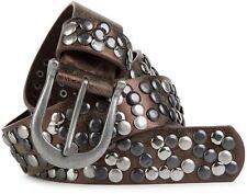 Nietengürtel im Vintage Style, Gürtel mit Nieten, kürzbar