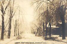 1909 RP POSTCARD CONNEAUT OH ICE STORM DAMAGE FEB 14, 1909 ASHTABULA