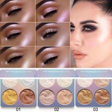 Face Powder Highlighter Bronzer Makeup Contour Palette Powder Glow Beauty Kit