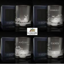 Glencairn Scottish Skyline whisky Esprit verre cristal gobelet boîte de présentation
