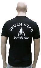 Ticila SEVEN STAR SEXMACHINE Porno Geiles T-Shirt g.S