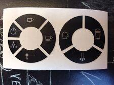 Jura Impressa C9 One Touch Tastensymbol Aufkleber Sticker