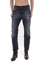Diesel Reen 0844T Stretch Damen Jeans Hose Regular Straight